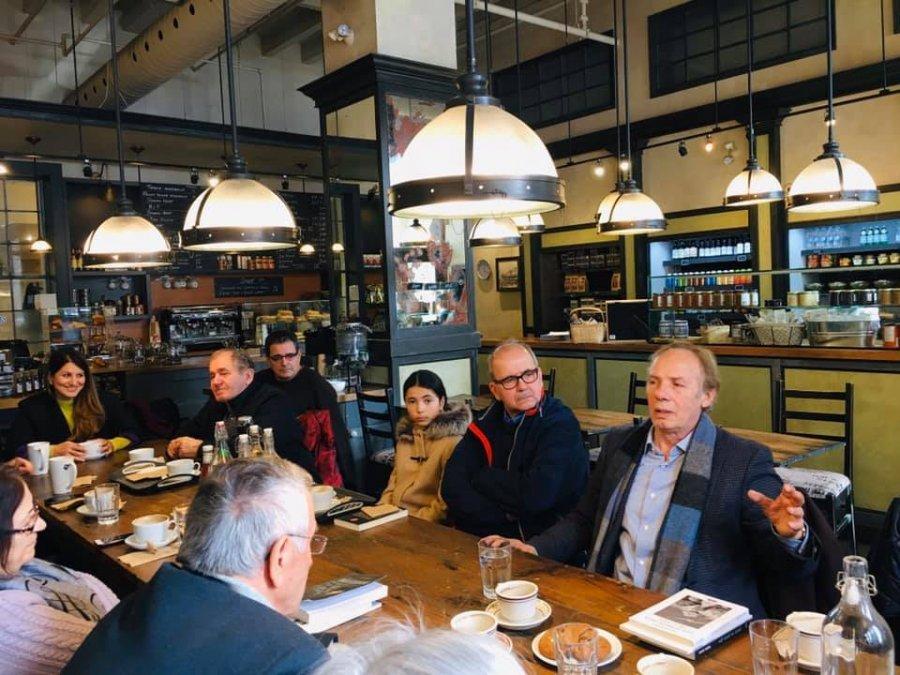 Një kafe në Montreal me shkrimtarin shqiptar Luan Rama