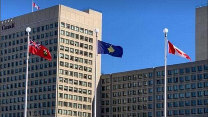 Kanada/ Flamuri i Kosovës ngrihet në Otava në 13-vjetorin e Pavarësisë