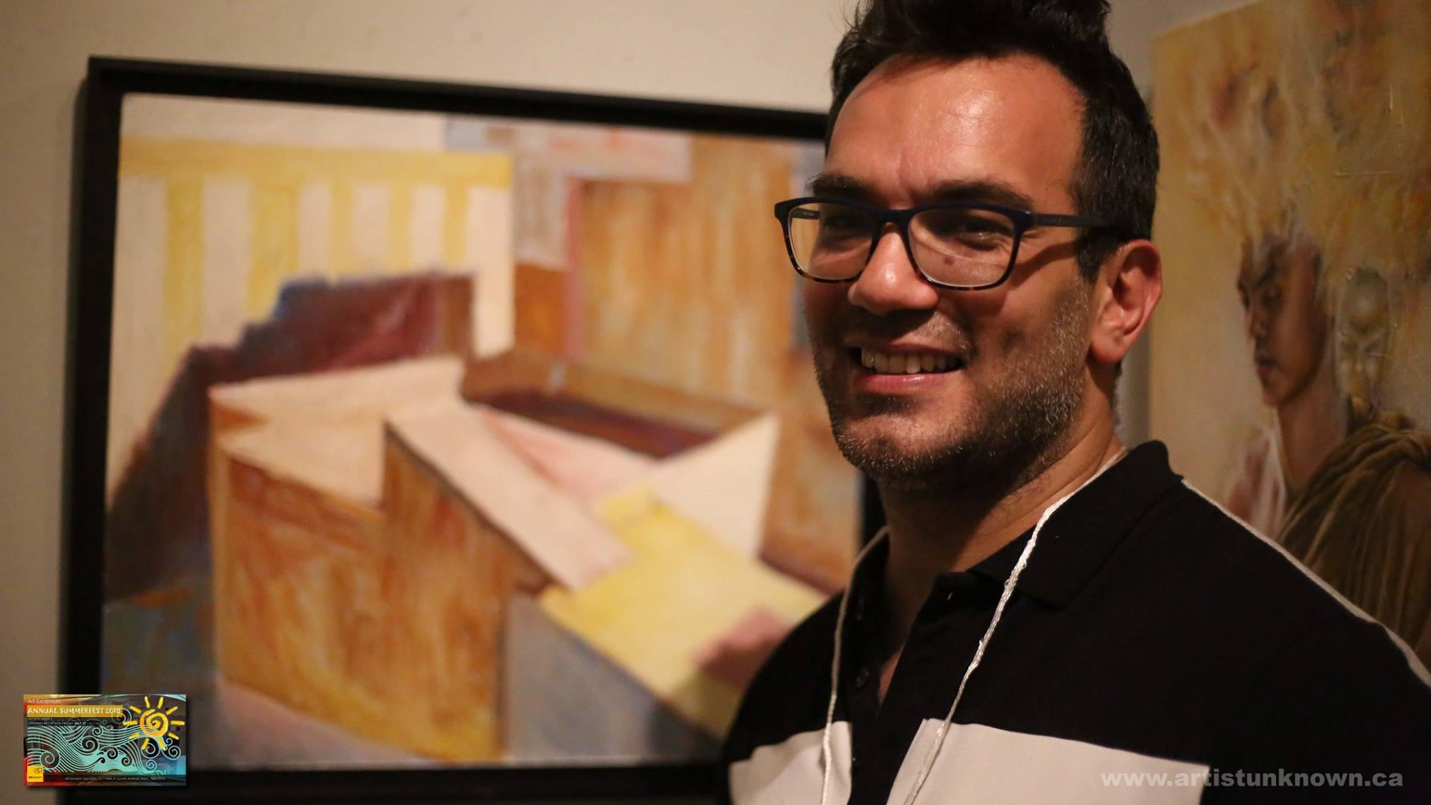 Profesori i pikturës në Toronto, Robert Simoni: Në çdo portret lexohet një histori jete