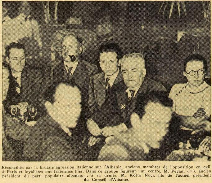 EXCELSIOR (1939) / OPOZITA NË MËRGIM BASHKOHET ME MBRETIN ZOG I KUNDËR ITALISË FASHISTE – DEKLARATAT E REXHEP MITROVICËS, BEDRI PEJANIT, NUÇI KOTËS DHE MURAT BASHËS