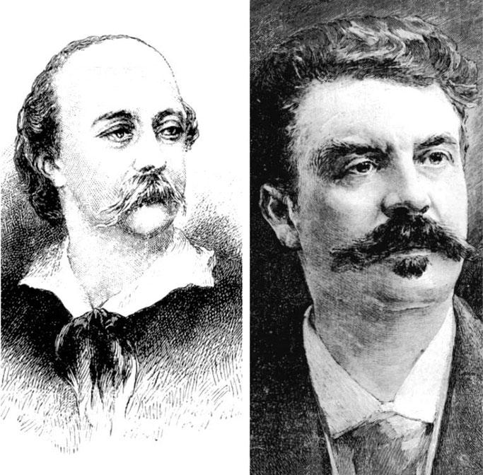 1880/ Kur Gustave Flaubert mbështeste Guy de Maupassant