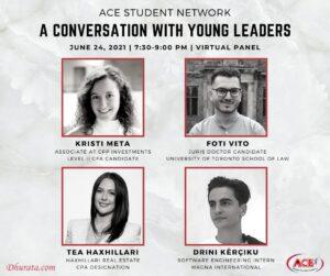 Liderët e rinj shqiptarë në Kanada
