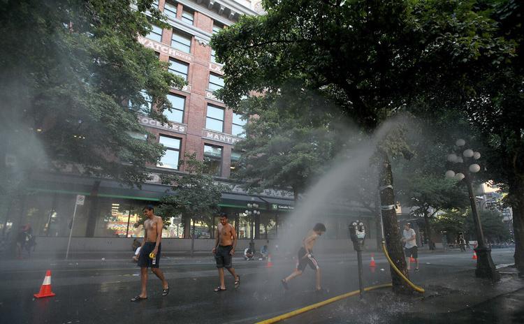 KANADA- Vala historike e nxehtësisë në Kolumbinë Britanike përvëlon qytetet, thyen rekordin e temperaturave