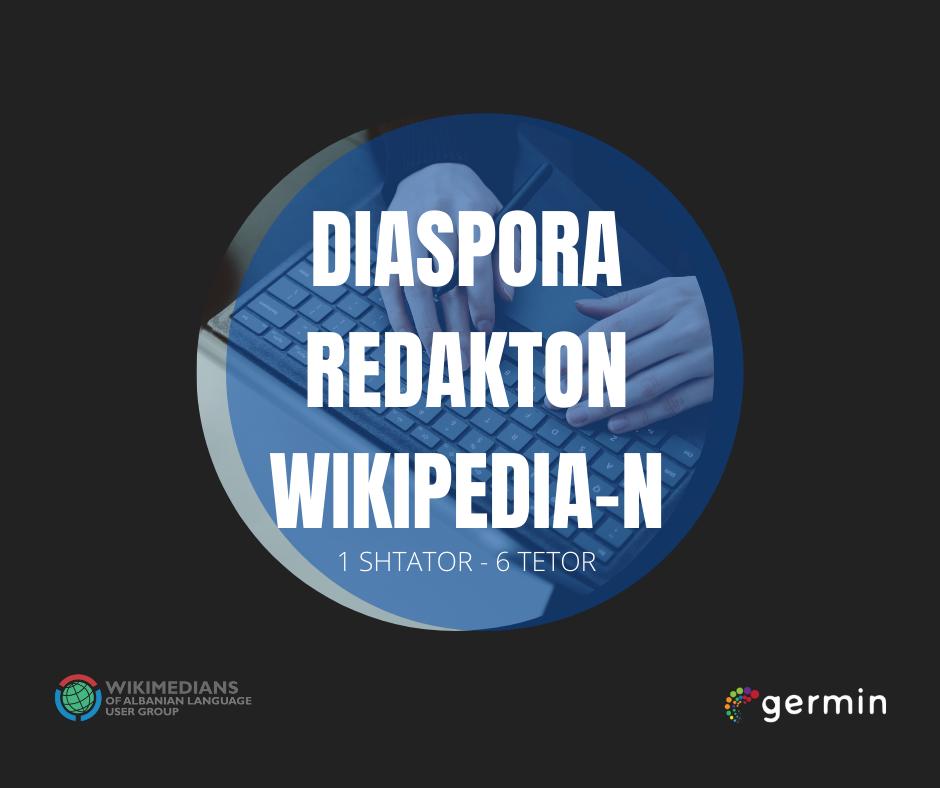 """""""Diaspora redakton Wikipedian"""" hap konkurs për promovimin e subjekteve shqiptare në Wikipedia"""